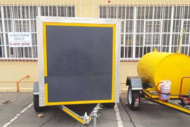 Box trailer Box trailer/mobile cold room 2020