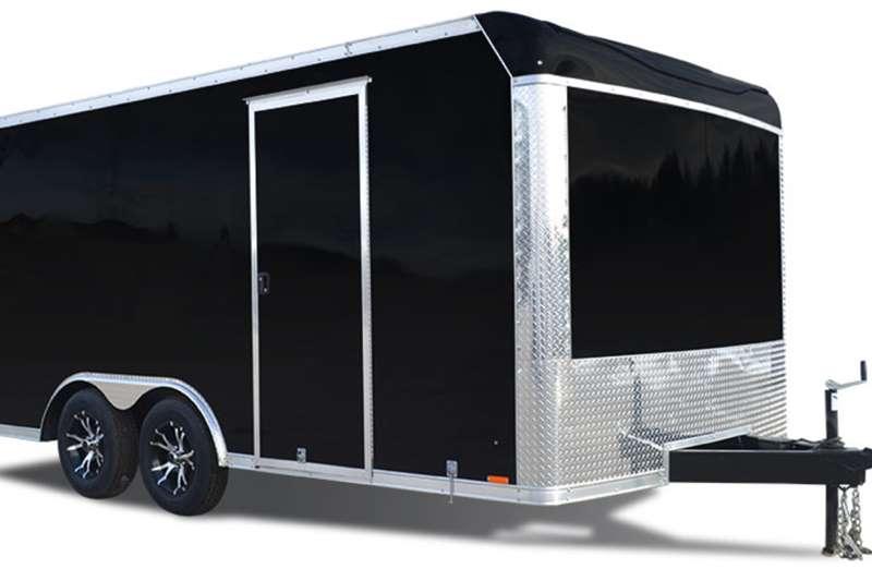 Box trailer Box trailer/mobile cold room trailer 2020