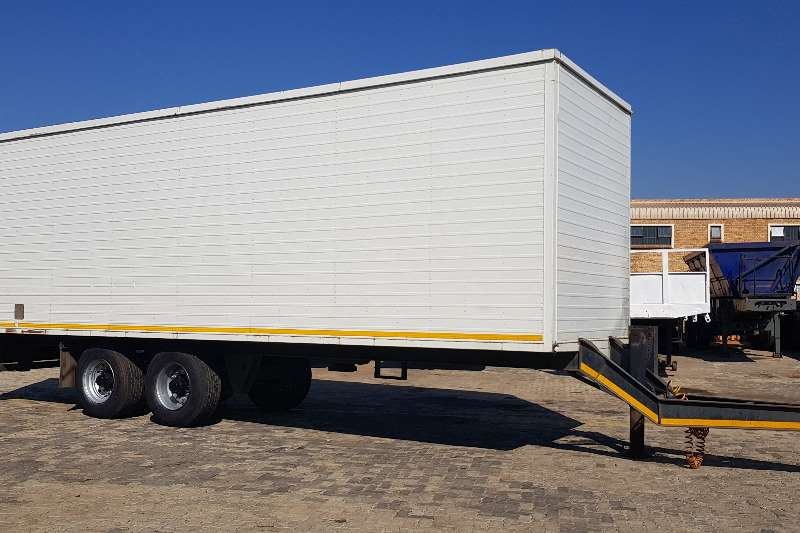 Box trailer drawbar side doors rear doors 2015