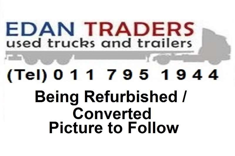 Burg Trailers End tipping Drawbars / Cable Carrier Trailers 2002