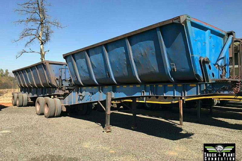 Burg Trailers Side tipper 2006 Burg Side Tipper 45m3 2006