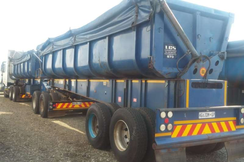 Burg Trailers Tautliner 2006 BURG Side Tipper Link 2006