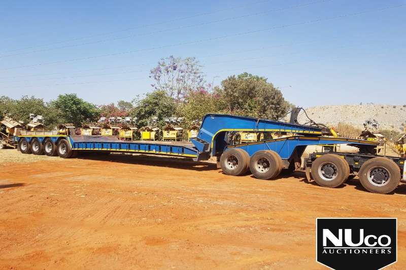 Busaf Trailers BUSAF 4 AXLE DOUBLE DOLLY DETACHABLE LOWBED 2015