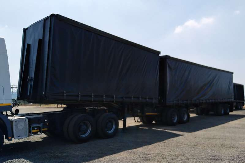 Busaf Trailers Tautliner BUSAF SUPERLINK TAUTLINER 2003