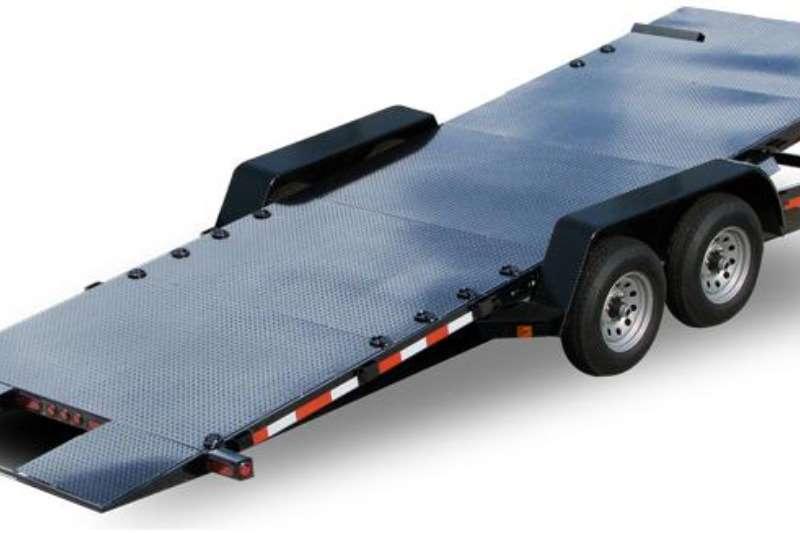 Car trailer CAR & BOB CAT TRAILER 2019