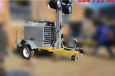 Light Tower Car trailer