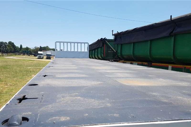 Cargo Torque Flatdeck trailer Lamont Superlink Flat Deck 1993