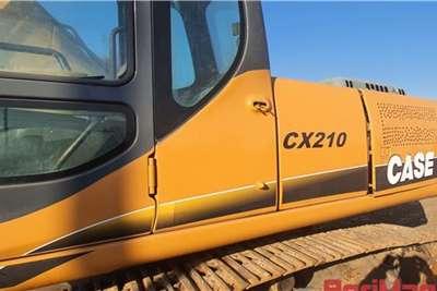 Case CX210 EXCAVATOR 17000h Excavators