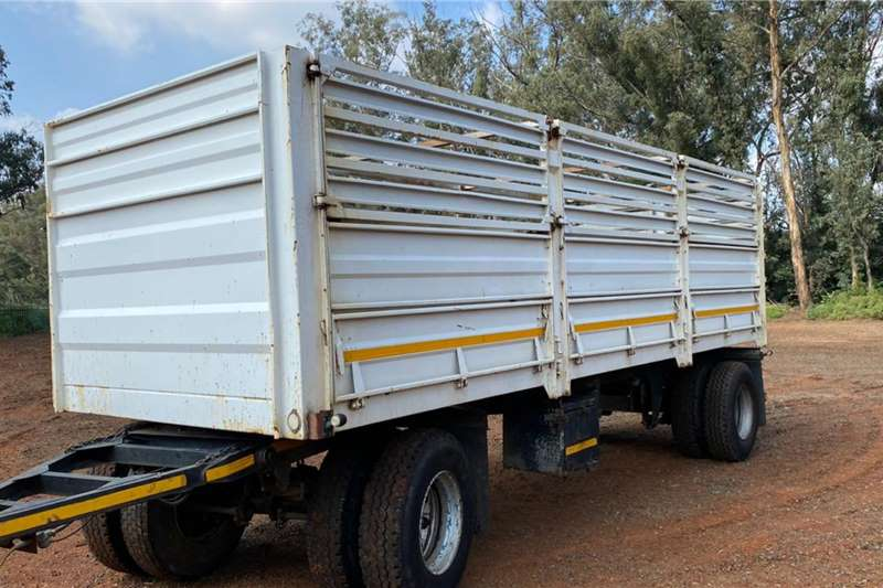 Cattle Trailer 2017 UBT Cattle trailer 15 ton and 7.2m longwith  2017