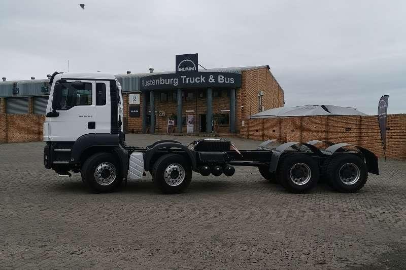 Chassis cab trucks MAN TGS 32 3608X4BB M 2020