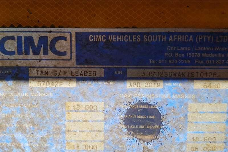 CIMC Side tipper CIMC Top Trailers Interlink Sidetipper Trailers