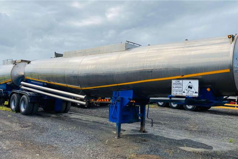 Clover Trailers Clover 316 Stainless Steel Semi and Pup Combo 2005
