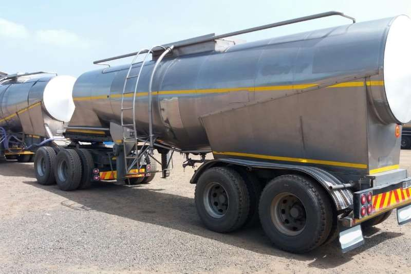 Clover Trailers Stainless Steel Tank 33000lt Stainless Steel Link 2002