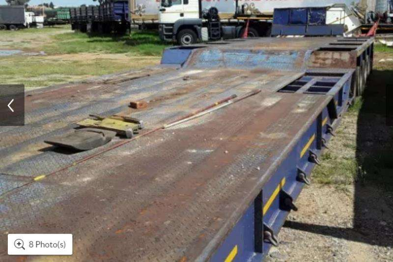 Cobalt Lowbeds 2009 COR LOW BED TRAILER 4 AXLE 2009