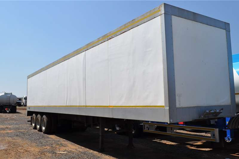 Coldroom trailer BAHRAIN VAN BOX TRAILER 2018