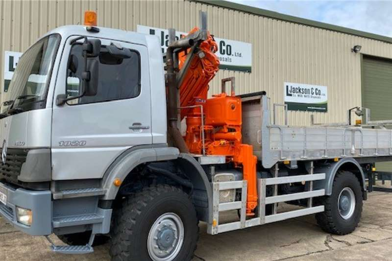 Mercedes Atego 1828 4x4 Crane Truck (RHD) Crane trucks