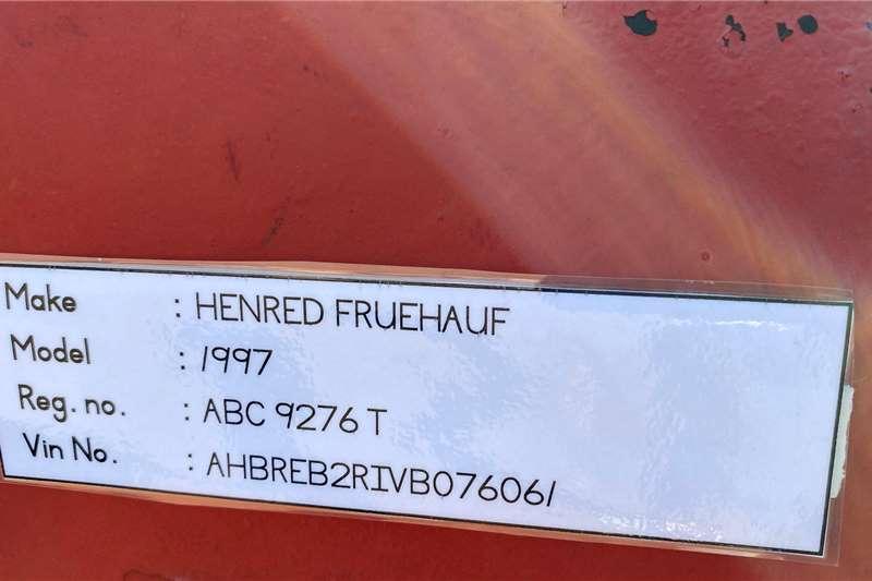 CTS Henred Fruehauf Flatdeck Superlink