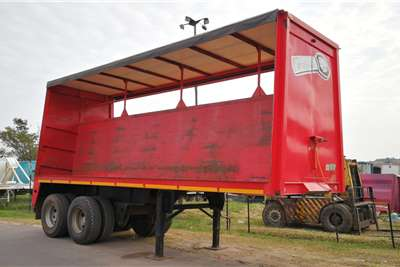 CTS Curtain side 7.2m Trailers