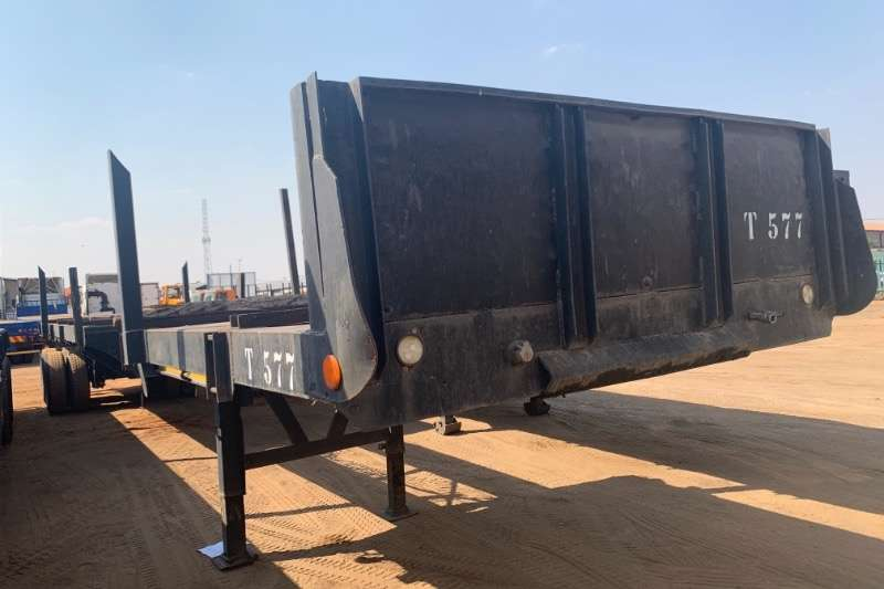 CTS Trailers Flat deck D/AXLE EXTENDABLE 1991