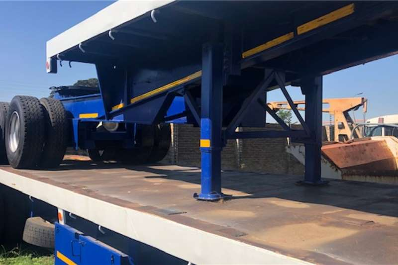 CTS Trailers Flat deck Superlink 12m and 6m Trailer 1996
