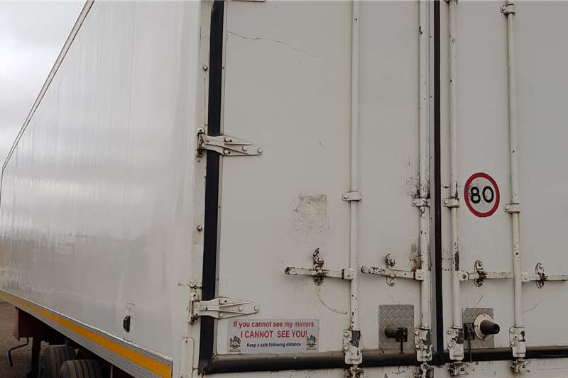 CTS Refrigerated trailer 28Plt Triaxle Thermoking SLE400 Trailers
