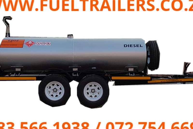 2021 Custom  2000 Litre Diesel Bowser Tanker