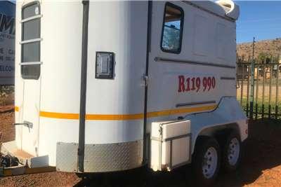 Custom CHRISBOX DERBY HORSEBOX Advertise trailer
