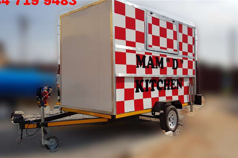 Custom Kitchen Trailer Advertise trailer