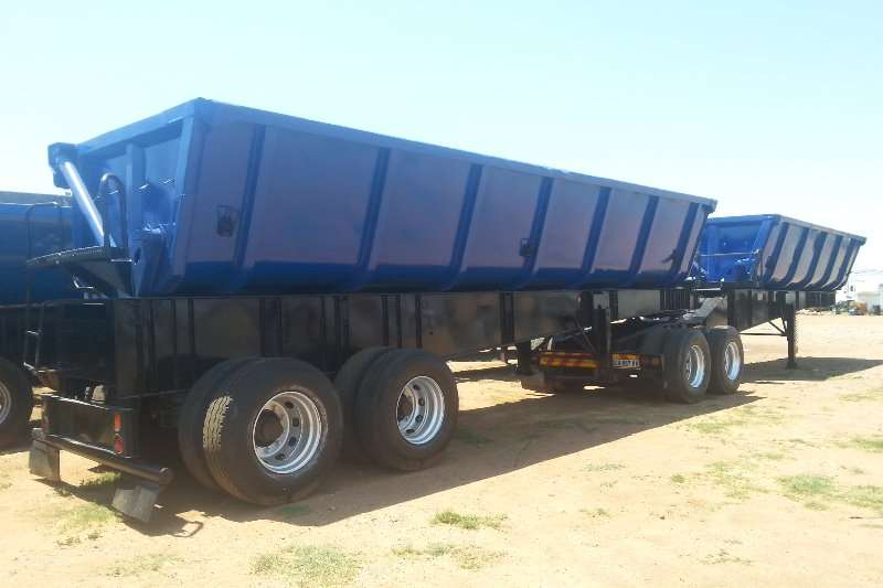 Custom Box trailer 34 SIDE TIPPER TRAILER 2006
