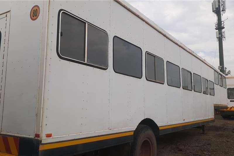 Custom Semi Trailer S/Axle Personnel Carrier(No seats) Box trailer