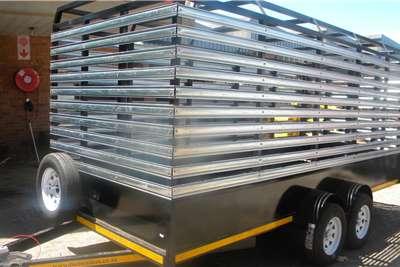 Custom Cattle Trailer Cattle trailer