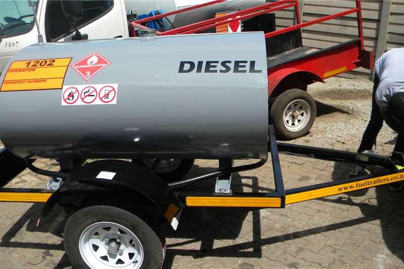 Custom 1000Liter Diesel Bowser Trailer Diesel bowser trailer