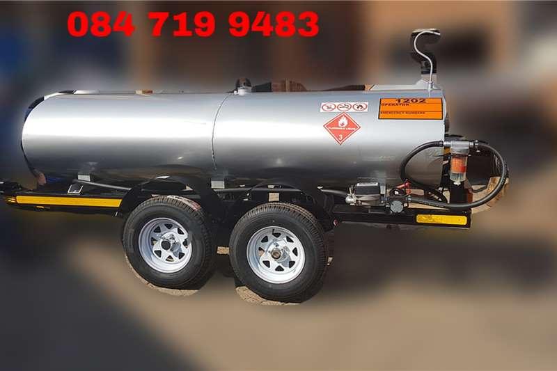 Custom Diesel bowser trailer 2500 LITER DIESEL BOWSER TRAILER 2020