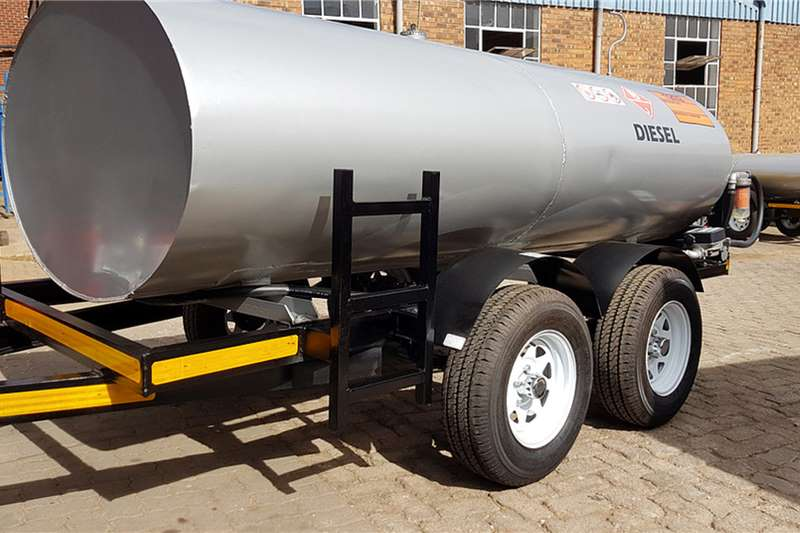 Custom 2500Liter Diesel Bowser Trailer Diesel bowser trailer