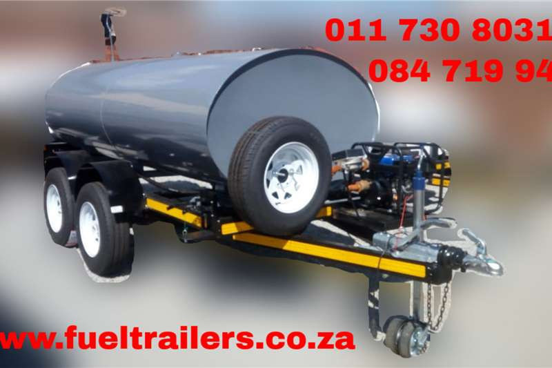 Custom 3000Liter Diesel Bowser Trailer Diesel bowser trailer