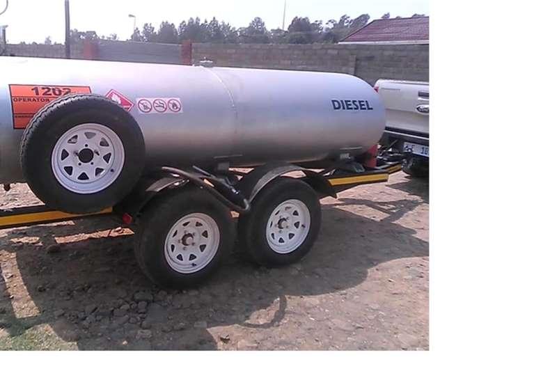 Custom Diesel bowser trailer 3000S 2020