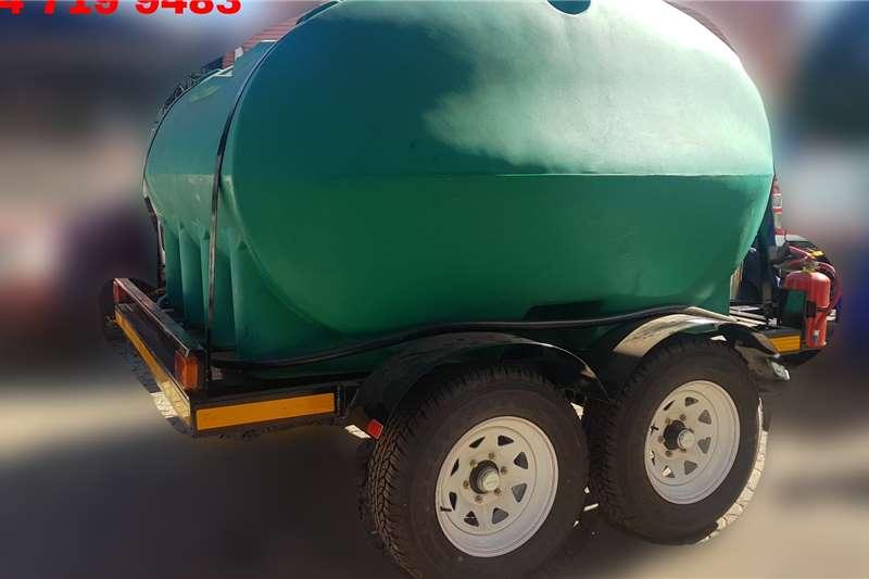 Custom Diesel bowser trailer 5000 LITER PLASTIC DIESEL BOWSER TRAILER 2020