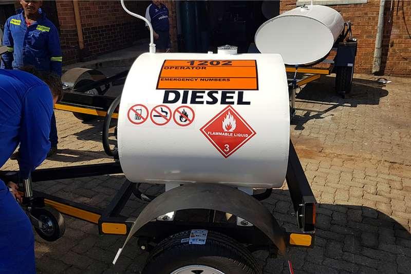 Custom 500Liter Diesel Bowser Trailer Diesel bowser trailer