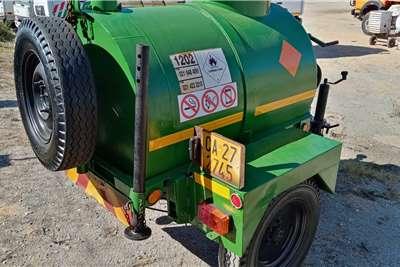 Custom Home Built Diesel Tanker Diesel bowser trailer