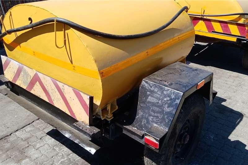 Custom Home Built Diesel Trailer Diesel bowser trailer