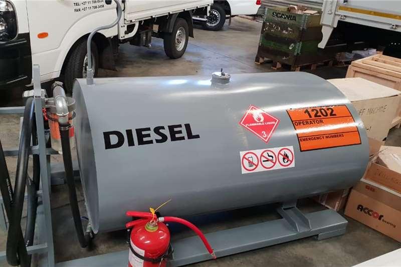Custom Tank on Stand or Skid Diesel tanker