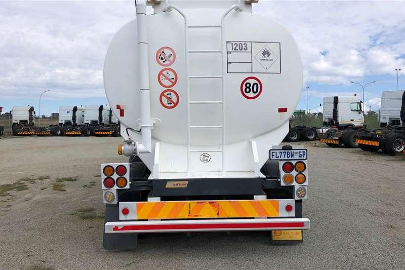 Custom Fuel tanker 2007 TANK CLINIC(LITRE 41000)7 COMPARTMENTS 2007