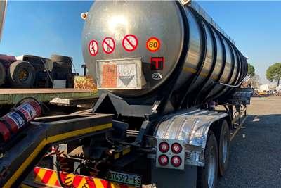 Custom GRWEngineering Semi Trailer Fuel tanker
