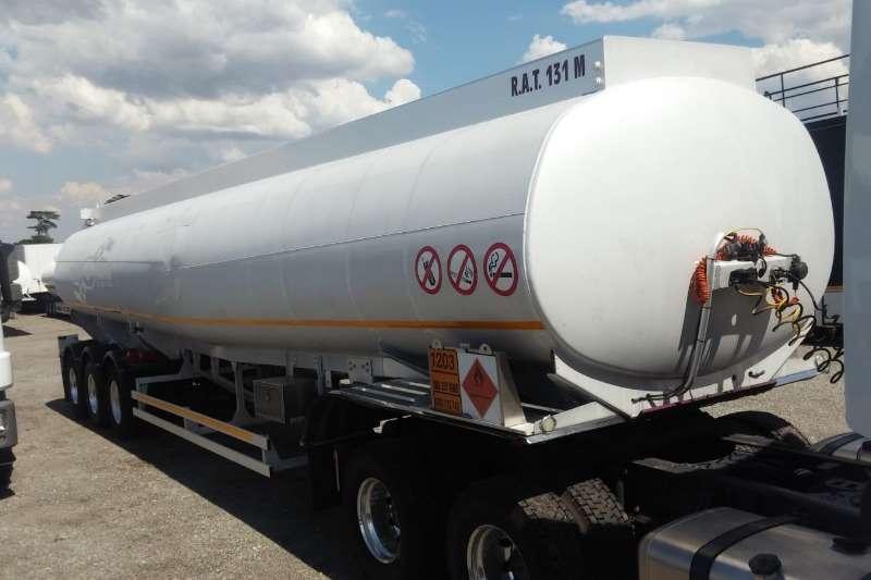 Custom Fuel tanker TANK Clinic 49,000L Triaxle Bulk Fuel Tanker 2013