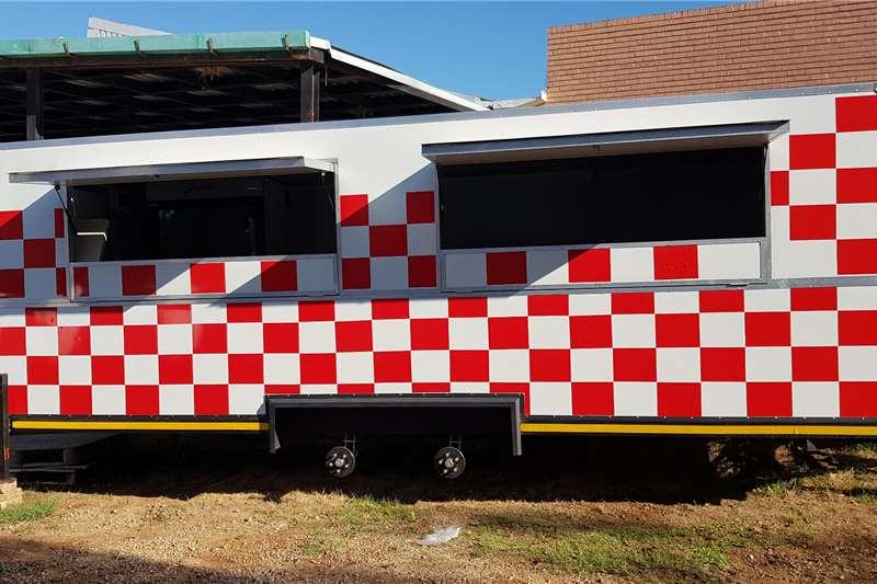 Custom Mobile kitchen Trailer Mobile kitchen trailer