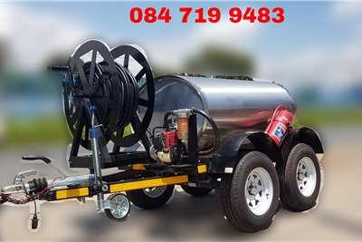 Custom 1000 Litre Diesel Bowser Trailers