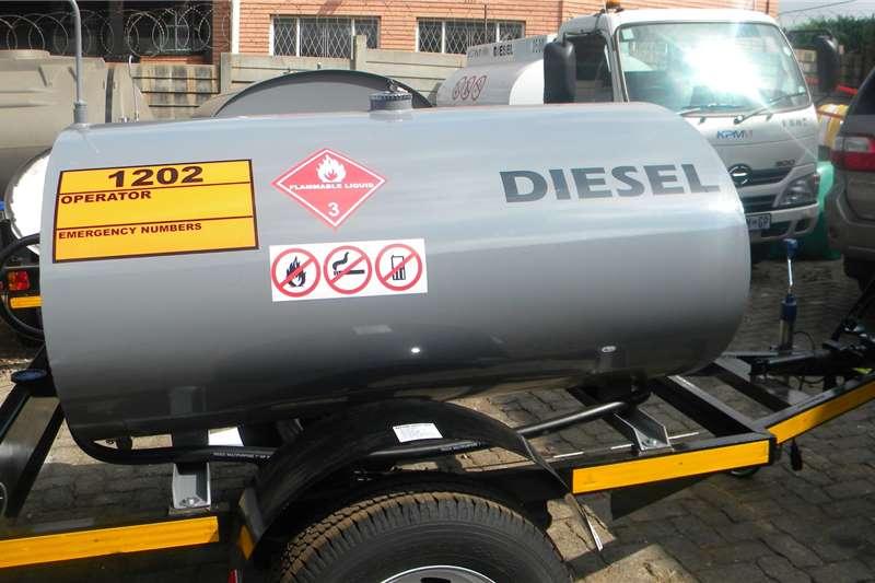 Custom 1000 Litre Fuel Bowser Trailers