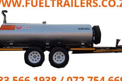 Custom 2000 Litre Diesel Bowser Tanker Trailers
