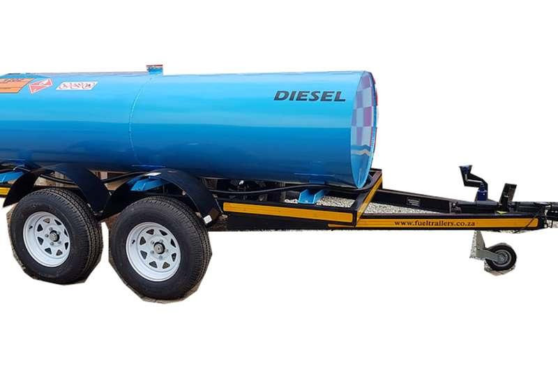 Custom 2000 Litre Fuel Bowser Trailers