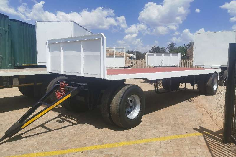 Custom Trailers Drawbar 7M FLATDECK 2013